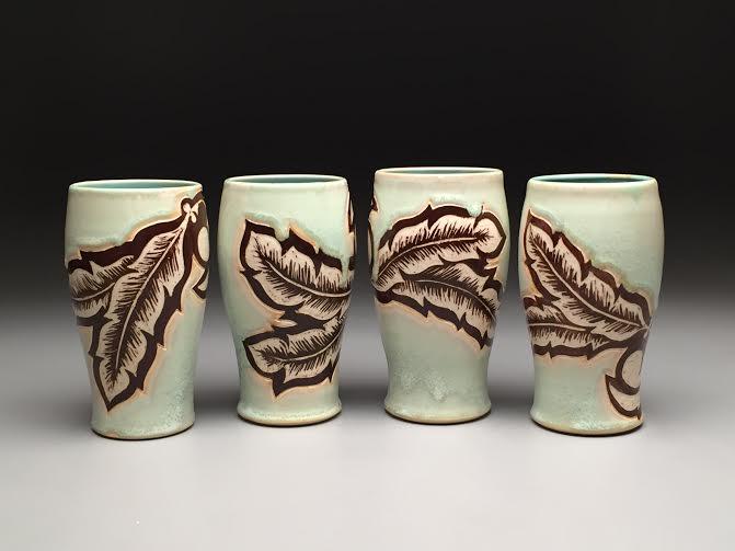 Mint Semi-matte Cups